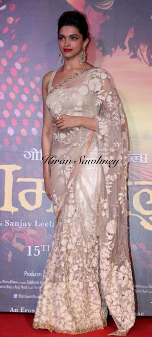 Top Indian fashion and lifestyle blog: Deepika Padukone loves Sabyasachi saris
