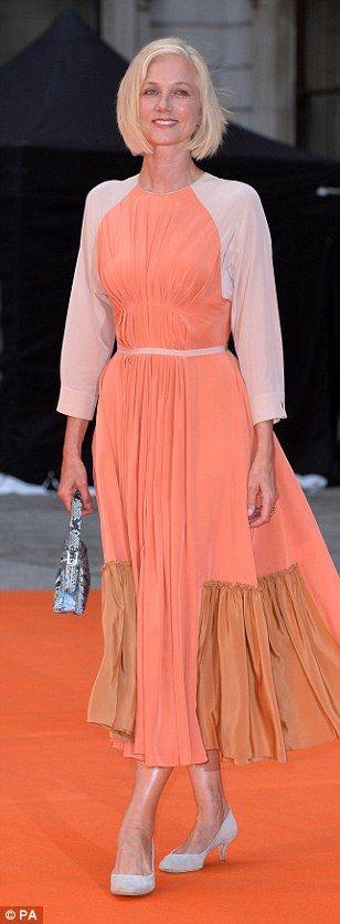 Classic looks: Emma McQuiston, Viscountess Weymouth,Dakota Blue Richards and Joely Richar...