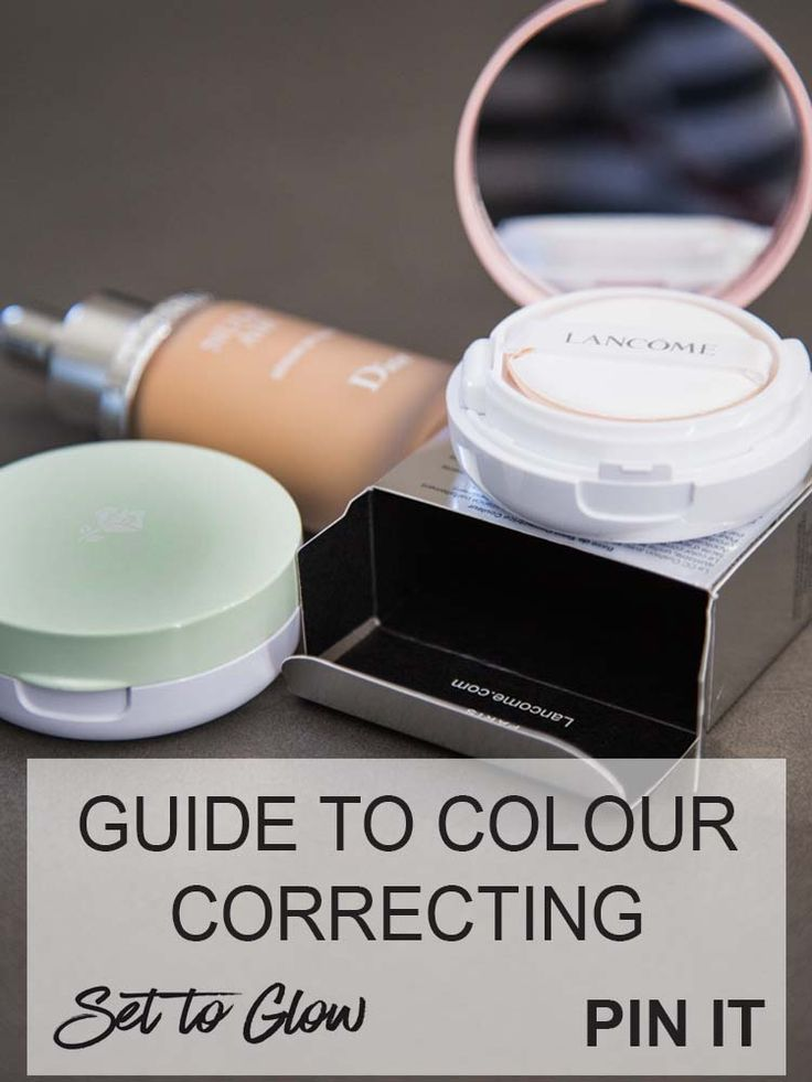 Simple Colour Correcting Concealers Guide. The Low Down on Colour Correcting Concealers #makeup #colourcorrecting #concealers #DIY #howto