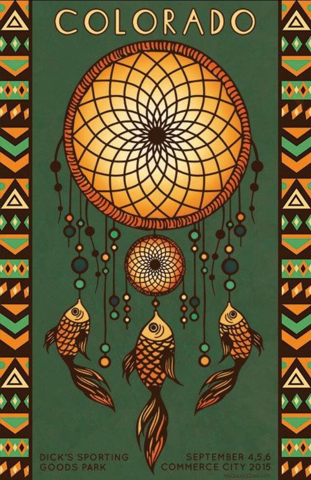Phish Poster - Dick's Sporting Goods Park, Commerce City, CO 2015 by MariaDdesigns on Etsy https://www.etsy.com/listing/246924865/phish-poster-dicks-sporting-goods-park