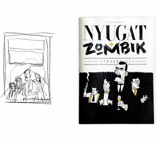 Az évtized netes tartalma: zombik vs. nyugatos írók képregény. Eszelős!