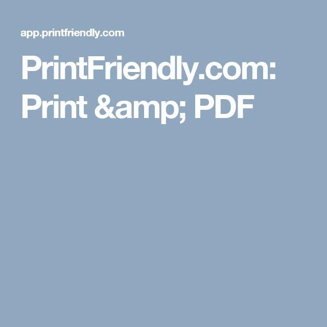 PrintFriendly.com: Print & PDF