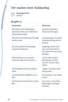 Waldausflug - Spiel für den #Kindergarten #Kiga #Kita © Blick ins Buch. Von Midvox.