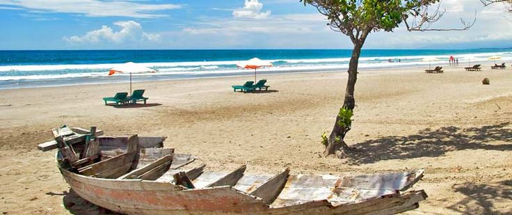 This beach is located not far away with a view of Kuta beach beaches also not less interesting to other beaches here you can surf board hire are widely available on the beach .