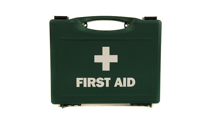 First Aid Kit - 1 or 2 Be prepared to tackle minor injuries with this First Aid Kit       Buy 1 or 2 - handy to keep in the home and in the car      Contains all you need to treat a variety of bumps, scrapes, cuts, burns and more.      Get on the spot relief from painful accidents in the home      Ideal for taking on holiday      See 'Full Details' for full box contents    Buying Options:        9.99 pounds for 1 first aid kit      16.99 pounds for 2 fist aid kits BUY NOW for just GBP9.99