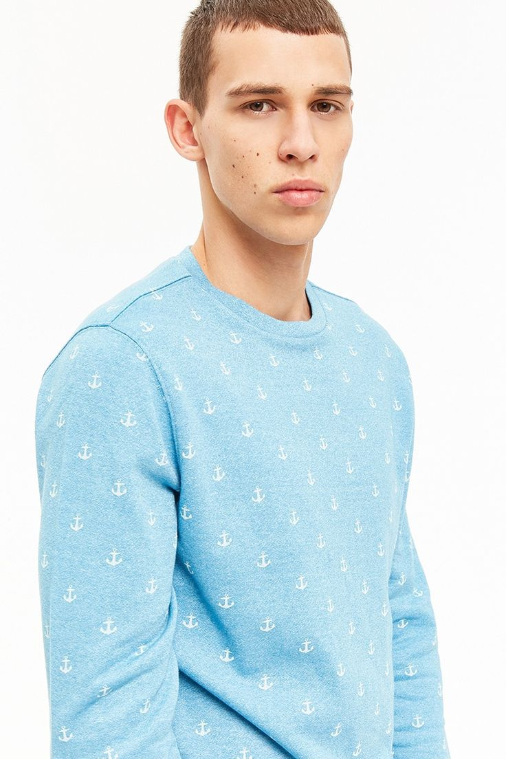 Product Name:Alpha Beta Anchor Print Pullover, Category:CLEARANCE_ZERO, Price:25