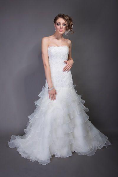 Angel Rivera - Bernice. Available at Bridal Reflections.