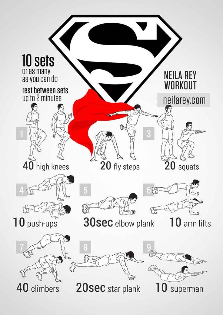 super hero workouts | superman bodyweight workout Stephen Amell Workout: Bodyweight Workouts ...