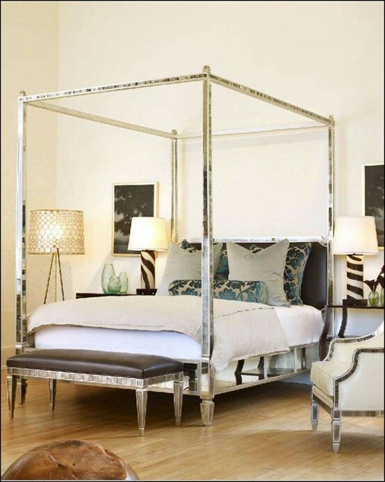 queen size canopy bed canopy beds canopies 34 beds beautiful bedrooms dream bedroom interior design classes interior design inspiration mirror bed