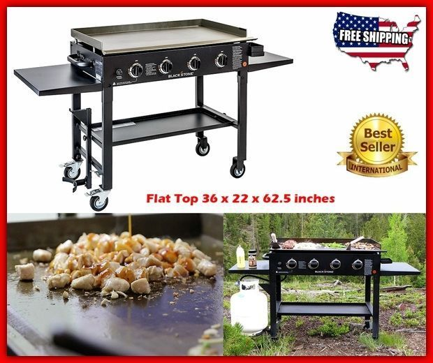 Gas Grill BBQ Patio Best Grills On Sale Clearance Portable Propane Griddle Steel