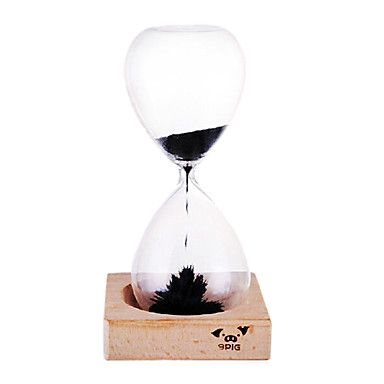 "7.3""H Creative Glass Sand Timer – USD $ 22.99"