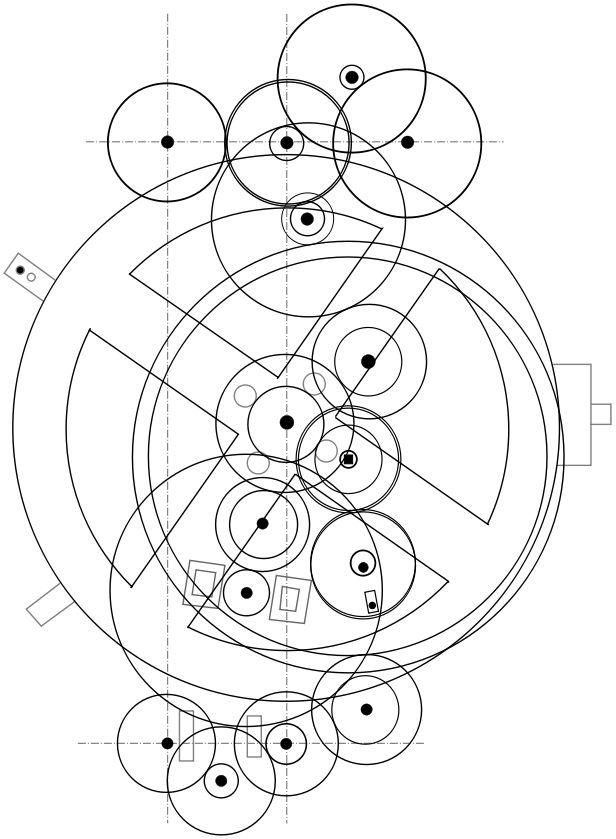 Antikythera Düzeneği Modeli