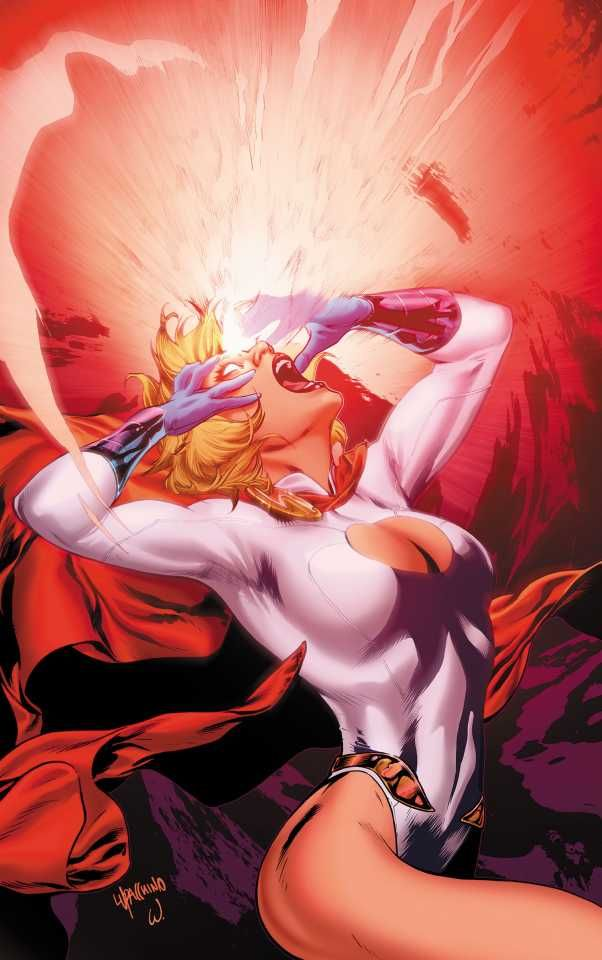 With great power...-Powergirl
