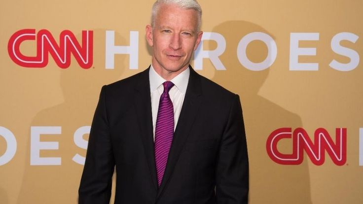 """Anderson Cooper was """"surprised"""" that CNN stood for Cannabis News Network on New Year's Eve."""