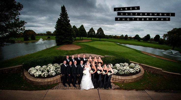 Suburban Backyard Wedding : Oak Brook Hills Resort Saturday, October 4, 2014 Jason Kaczorowski