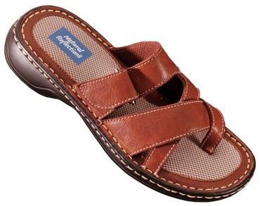 Natural Reflections® Ocala Leather Toe Loop Sandals for Ladies | Bass Pro Shops