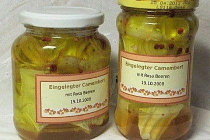 Eingelegter Camembert