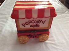 Popcorn Vendor Machine Trinket Box