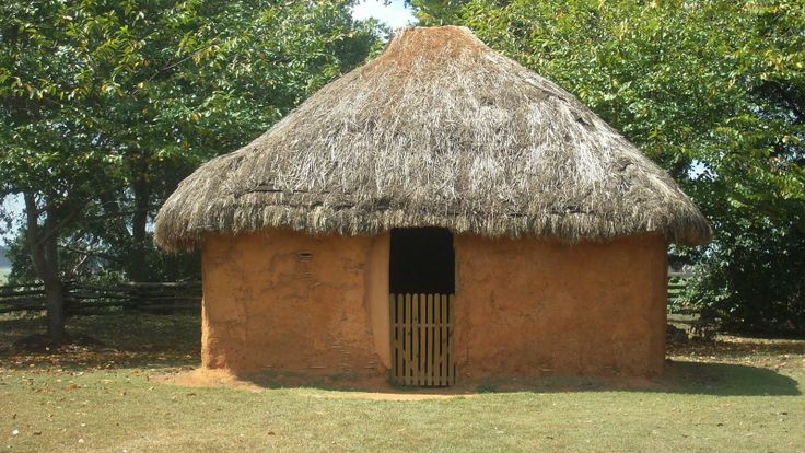 Wattle and daub houses also known as asi the cherokee word for them