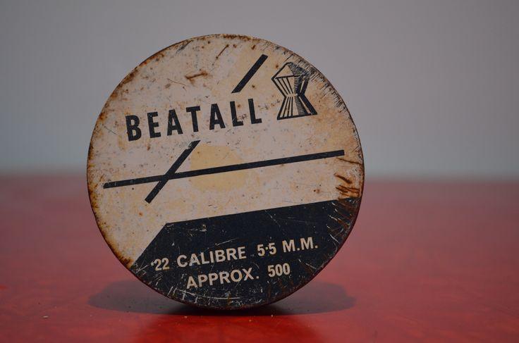 Beatall .22 Calibre 5.5 mm Pellet Tin http://cnctbay.wix.com/crowe-s-nest