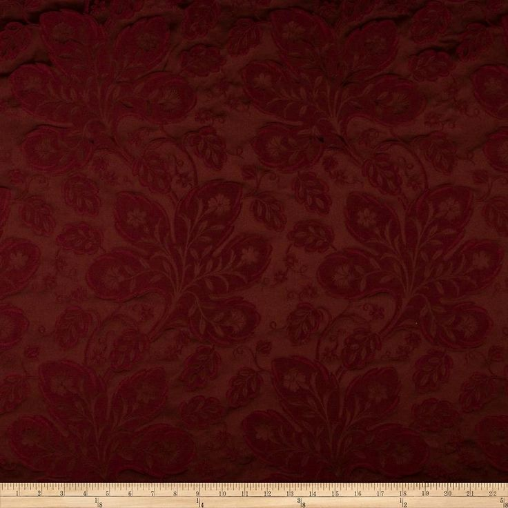 Ritz Paris Trianon Damask Jacquard Bordeaux