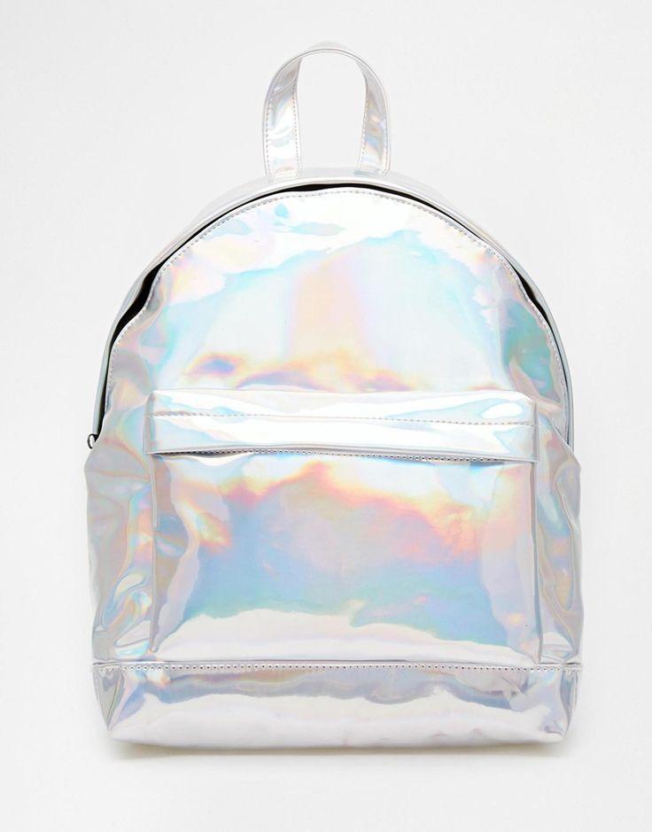 Bild 1 von ASOS – Hologramm-Rucksack                              …