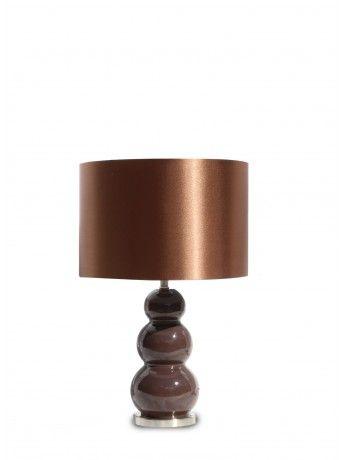 Marcus Chocolate Table Lamp 48cm x 30cm