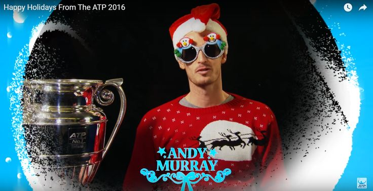 Andy and Jamie Murray feeling festive:  https://www.youtube.com/watch?v=m9ZMR_JX0XY