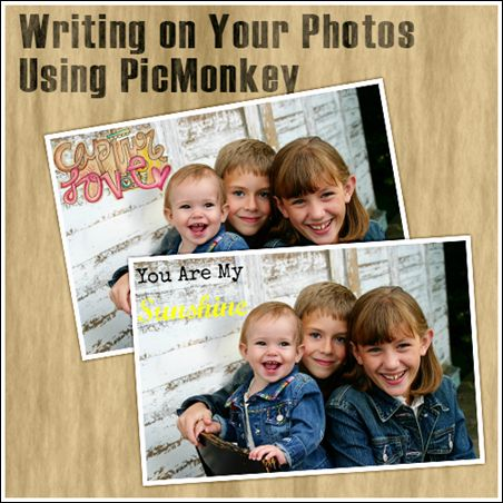 Writing on Your Photos Using a Free Online Photo Editor |TheDailyDigi.com