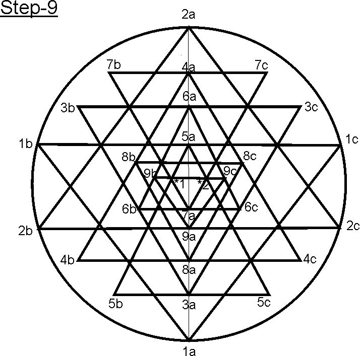 21 Best Images About Sri Yantra Mandala On Pinterest Il Sacred Geometry And How To Draw