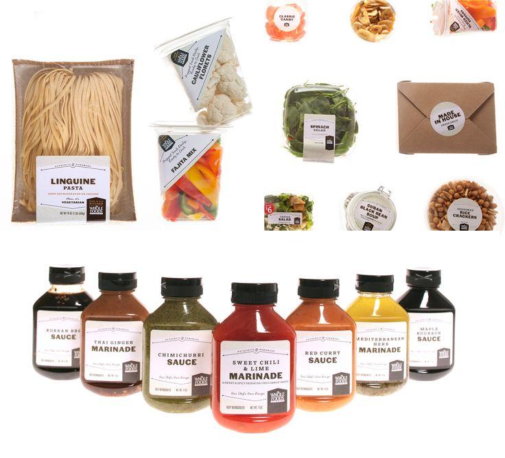 Mucca 2014 || Per la catena di supermercati Whole Foods lo studio di Brooklin Mucca ha creato un'immagine coordinata fresca e pulita.