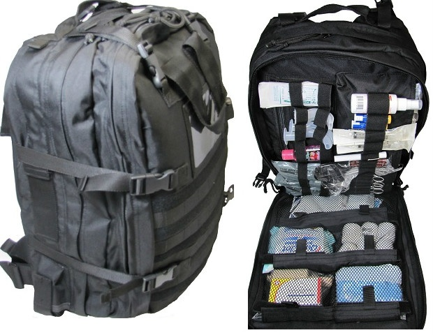 Fully Stocked S.T.O.M.P. Medical Backpack