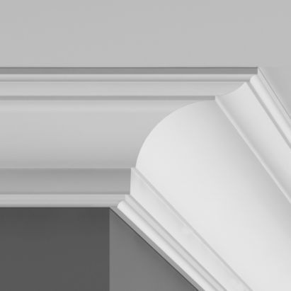 Coving with grey