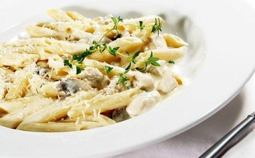 Low Calorie Dinner Recipes - Penne Gorgonzola With Chicken Recipe