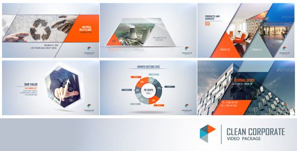 72 best videohive images on pinterest after effects templates clean corp nice design wajeb Gallery