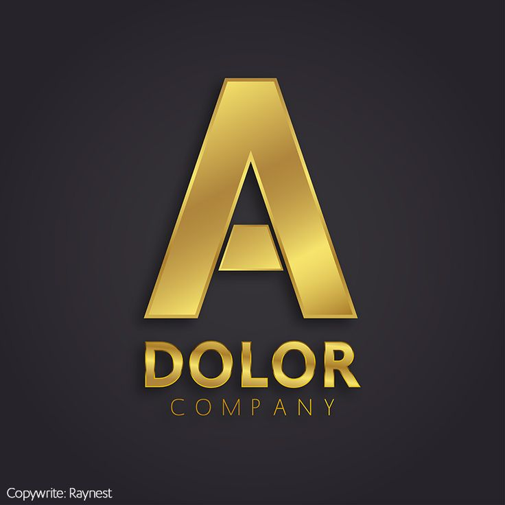 """Check out new work on my @Behance portfolio: """"Gold A Symbol"""" http://be.net/gallery/31183171/Gold-A-Symbol #raynest #behance #shutterstock #stock #graphic #design #vector #abstract #letter #a #brand #logo"""