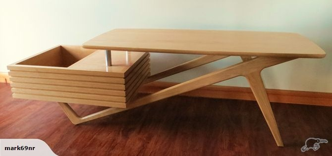 60 S Retro Coffee Table Trade Me Furniture Pinterest