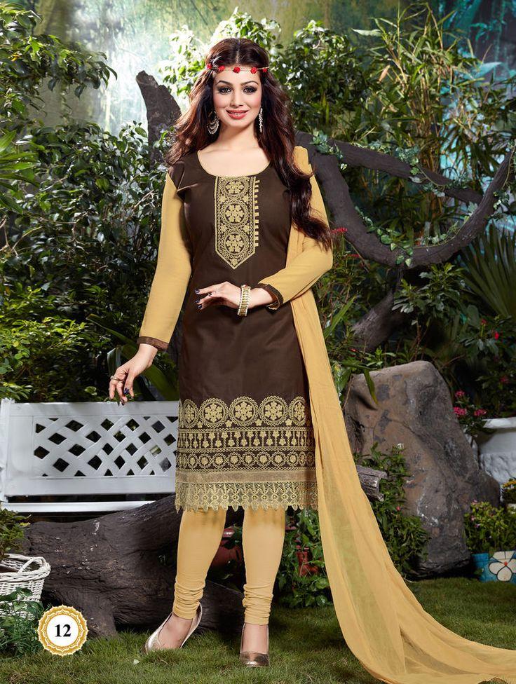 Cotton Indian Salwar Kameez Unstitch 100% Cotton Churidar Shalwar Kameez Suit 10 #OdInParis #Casual