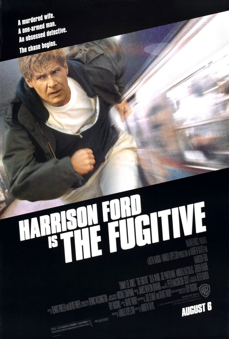 the fugitive movie poster 1993 director andrew davis shot everywhere in chicago