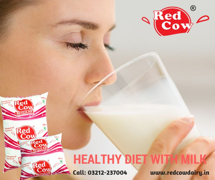 Drink milk daily & maintain a balanced diet