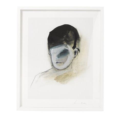 Black Eye canvas. Ben Lowe