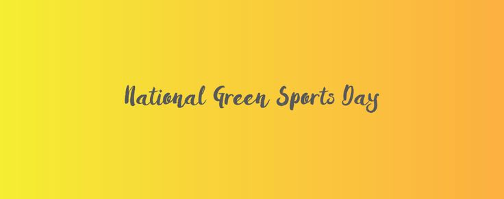 Worth checking out: Rick Fedrizzi on the White House announcement of National Green Sports Day on www.usgbc.org