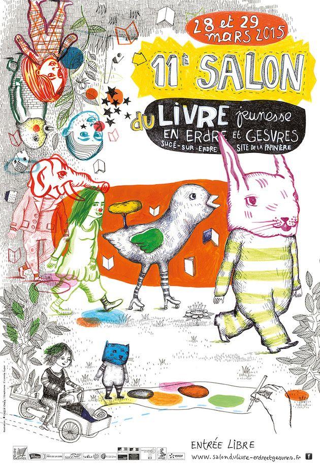 45 best feria del libro images on pinterest book fairs - Salon livre jeunesse ...