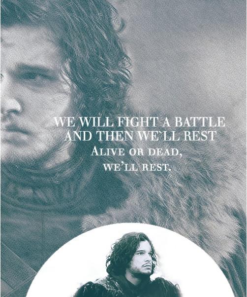 I think I need to re-read all the Jon Snow chapters again, until Winds of Winter is released.