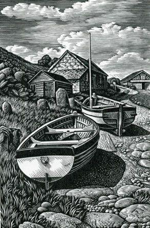 Howard Phipps, Beached Boats, Penberth