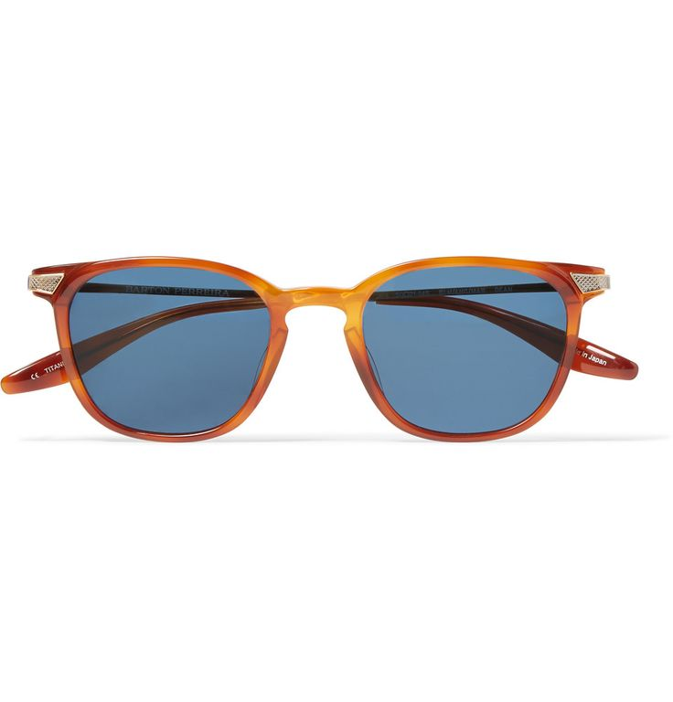 Barton Perreira - Dean Square-Frame Acetate Sunglasses|MR PORTER | #GQSelects