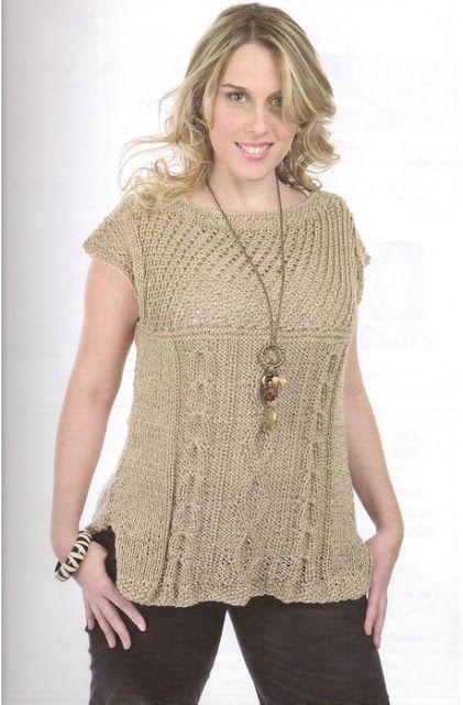 Ideas para el hogar: Talles grandes crochet y dos agujas