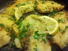 Filetti di platessa infarinati aromatizzati al limone