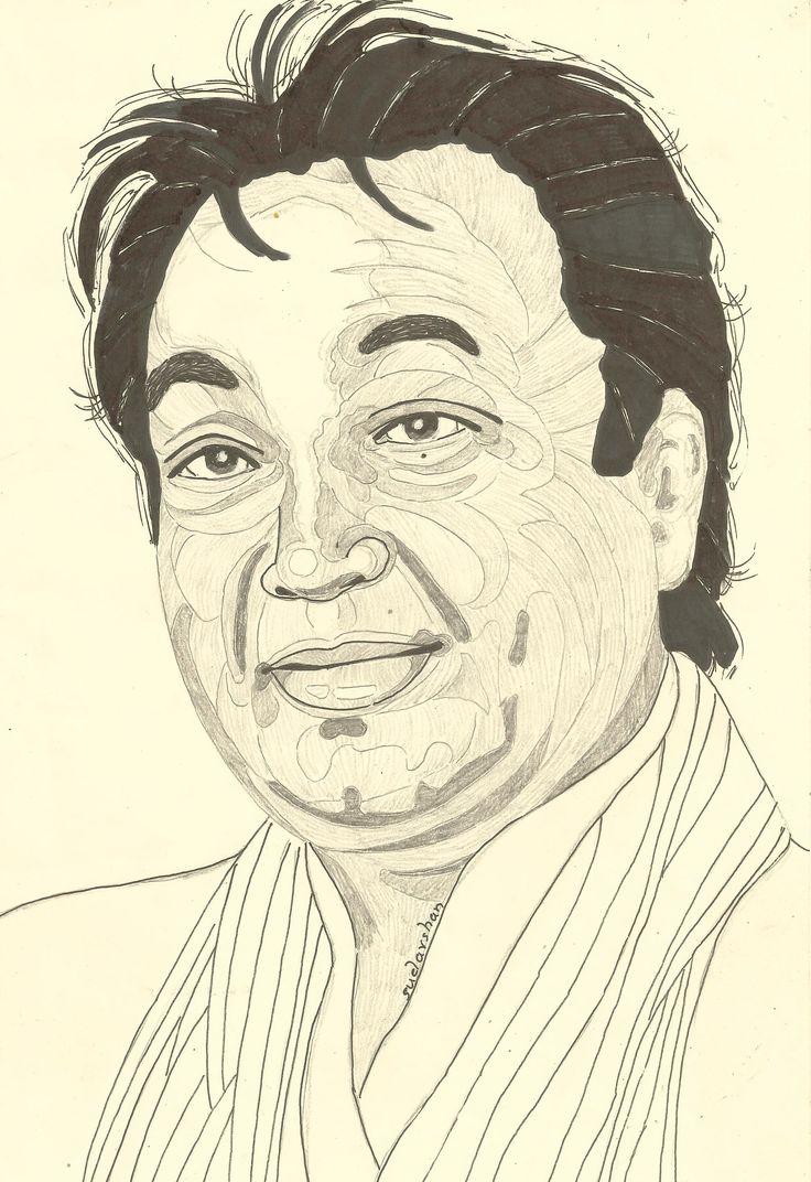 BHUPINDER Person sketch, Sketches, Male sketch