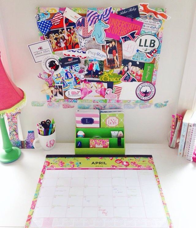 Preppy Desk, daily dose of prep, www.dailydoseofprep.com